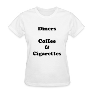 Diners Tee (white) - Women's T-Shirt