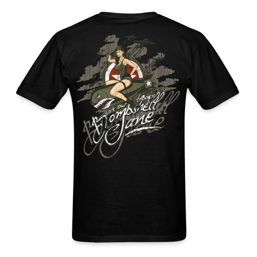 Bombshell Jane Save Our Troops Graphic T-Shirt - Men's T-Shirt