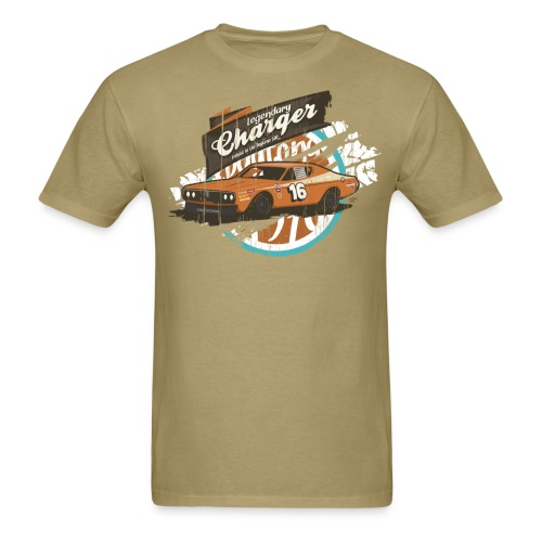 Legendary Charger Vintage Car Graphic T-Shirt - Men's T-Shirt