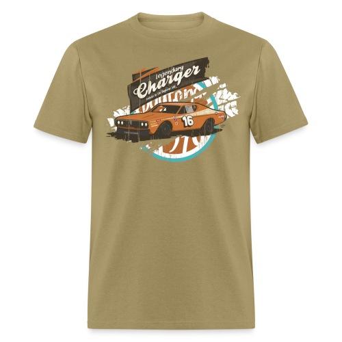 Legendary Charger Vintage Car Graphic T-Shirt - Men's T-Shirt