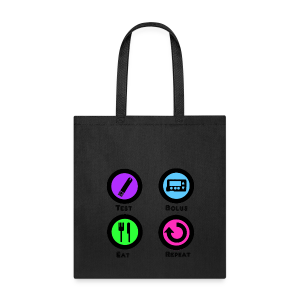 Test Bolus Eat Repeat - Tote Bag