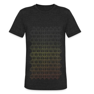 invertri - Unisex Tri-Blend T-Shirt by American Apparel