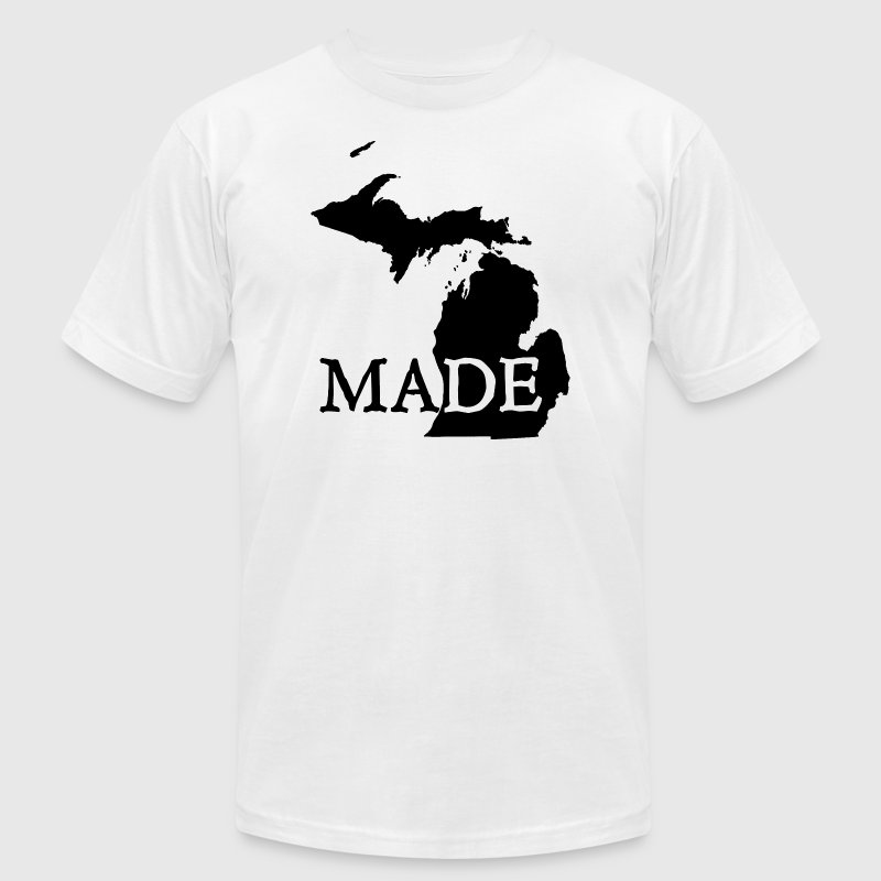 Michigan Made T-Shirts - Men's T-Shirt by American Apparel