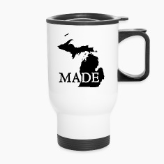 Michigan Made Bottles & Mugs