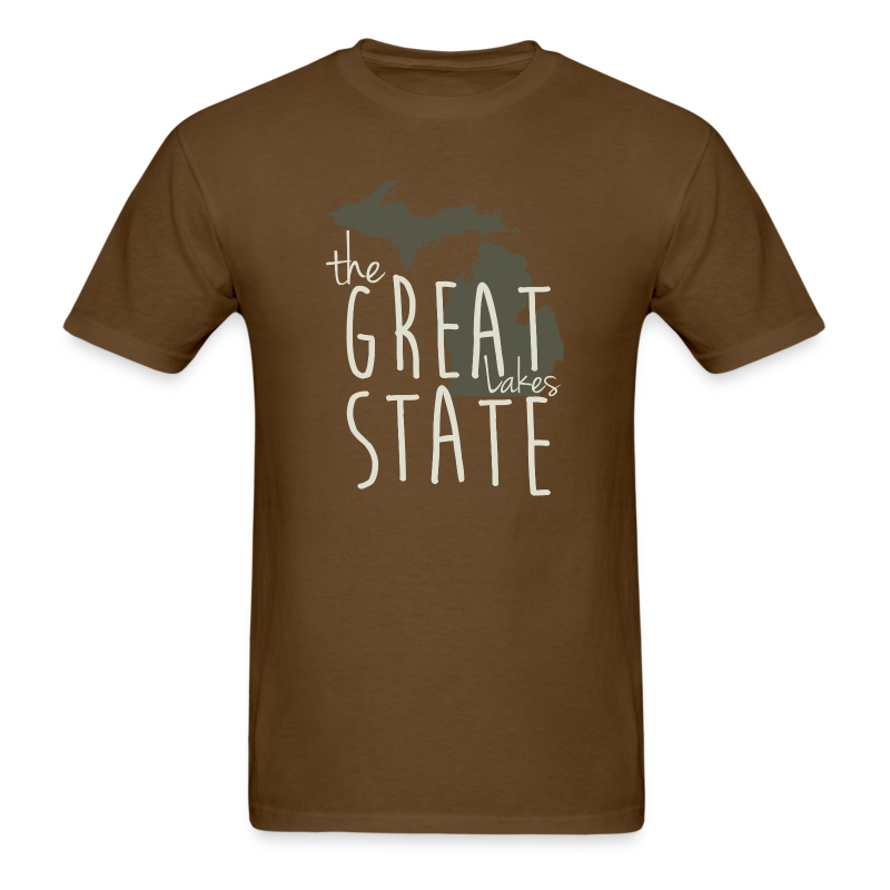 The great lakes state michigan shirt apparel tees t shirt The great t shirt