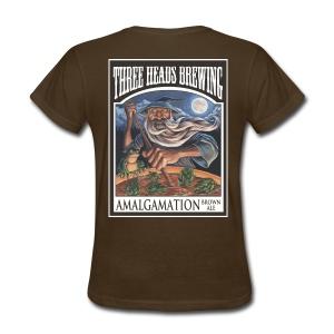 Amalgamation - White Logo - Women's T-Shirt