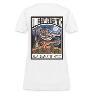 Amalgamation - Black Logo - Women's T-Shirt