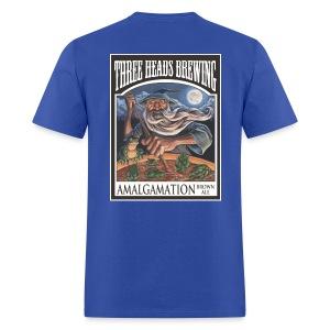 Amalgamation - White Logo - Men's T-Shirt