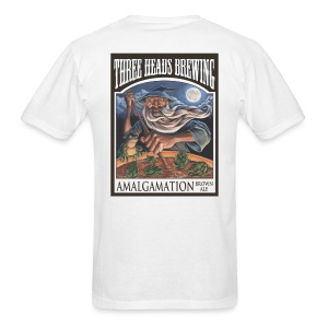 Amalgamation - Black Logo - Men's T-Shirt