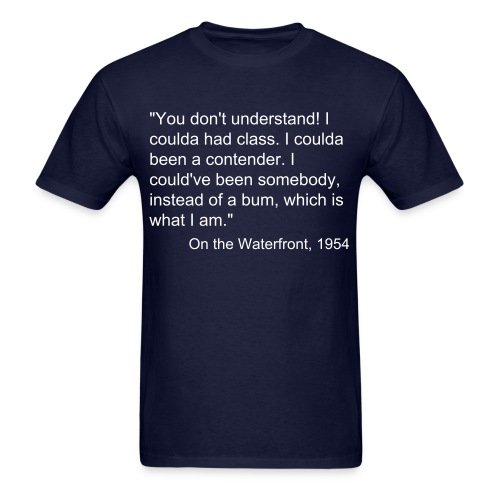 on the waterfront - Men's T-Shirt