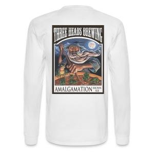 Amalgamation - Black Logo - Men's Long Sleeve T-Shirt