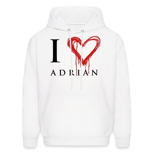 I heart Adrian - Men's Hoodie