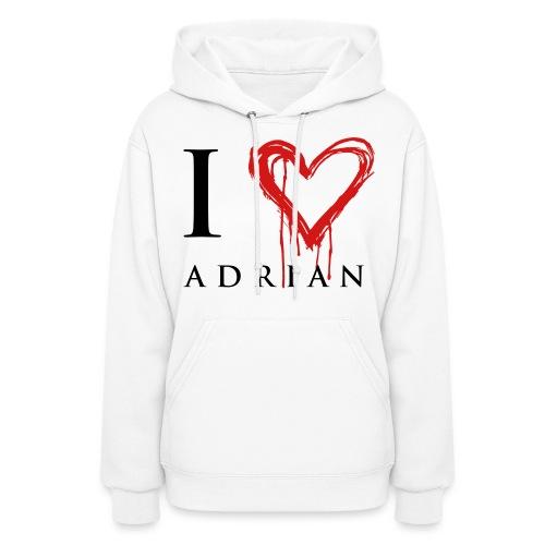 I heart Adrian - Women's Hoodie