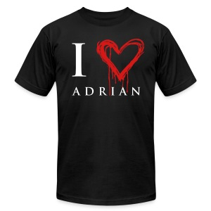 I heart Adrian - Men's T-Shirt by American Apparel