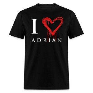 I heart Adrian - Men's T-Shirt