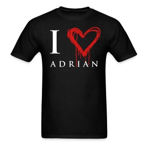 I heart Adrian - Men's T-Shirt