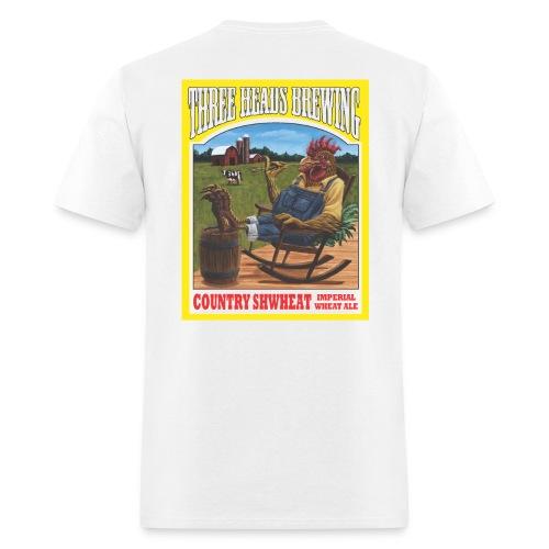 Country Shwheat - Black Logo - Men's T-Shirt