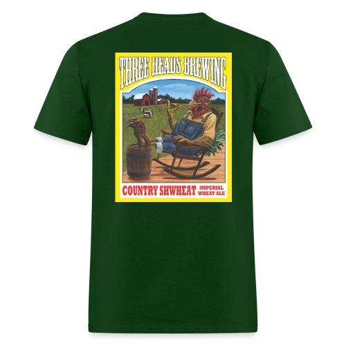 Country Shwheat - White Logo - Men's T-Shirt