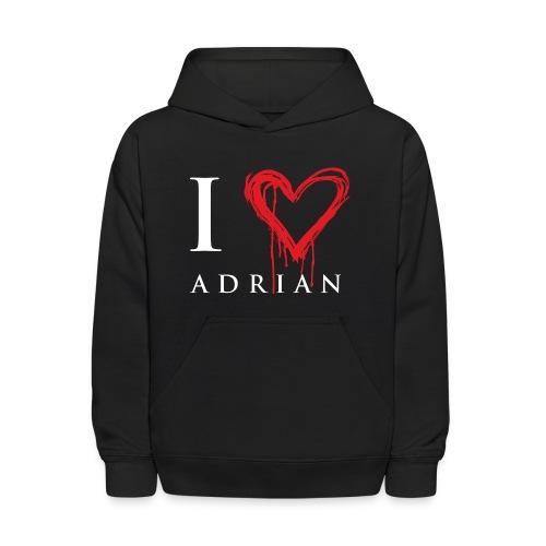 I heart Adrian - Kids' Hoodie
