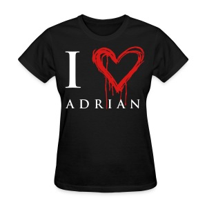 I heart Adrian - Women's T-Shirt