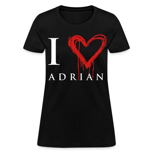 I heart Adrian - Women's T-Shirt