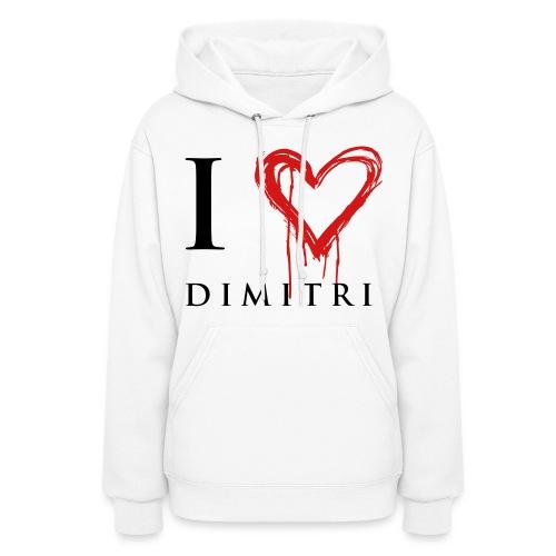 I heart Dimitri - Women's Hoodie