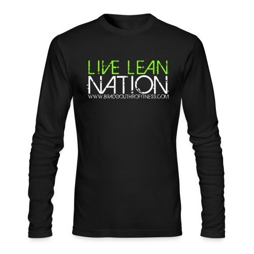 Live Lean Nation Long Sleeve - Men's Long Sleeve T-Shirt by Next Level