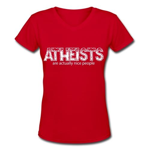 Women's V-Neck T-Shirt - Women's V-Neck T-Shirt