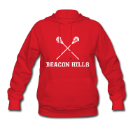 Hoodies ~ Women's Hoodie ~ Stilinski 24 Front and Back