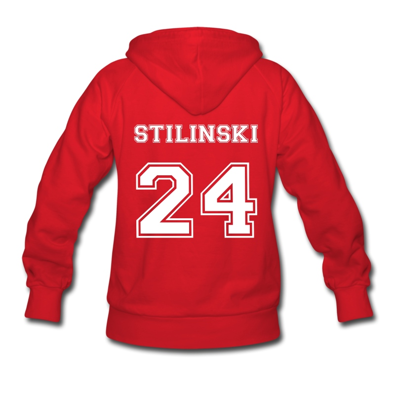 Stilinski 24 Back - Women's Hoodie