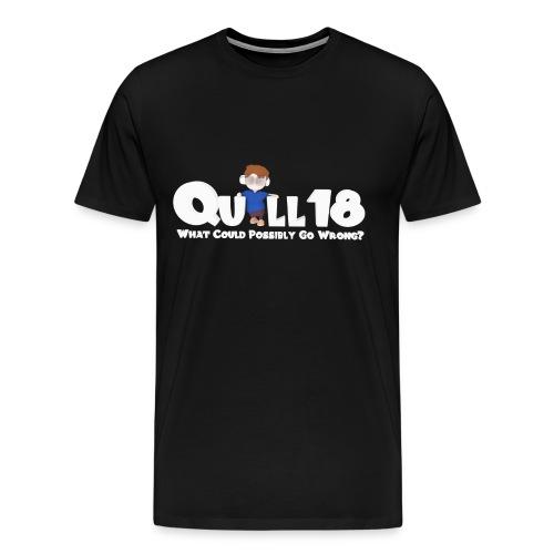 What Could Go Wrong (Mens T) - Men's Premium T-Shirt