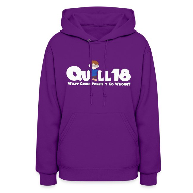 What Could Go Wrong (Ladies Hoodie)