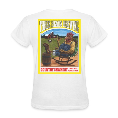 Country Shwheat - Black Logo - Women's T-Shirt