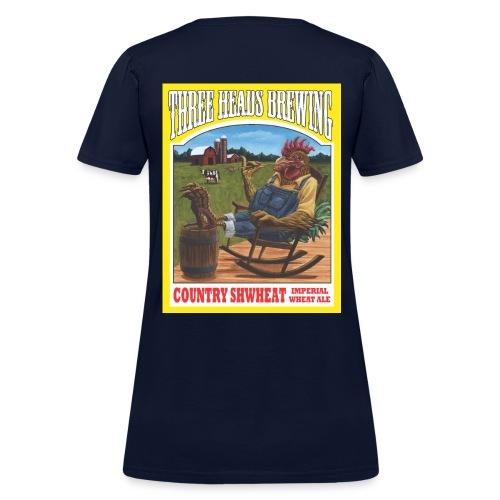 Country Shwheat - White Logo - Women's T-Shirt