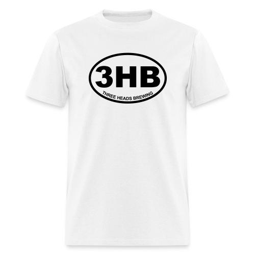 3HB Logo - Black - Men's T-Shirt