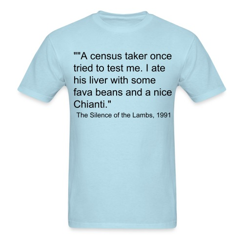 silence of the lambs - Men's T-Shirt