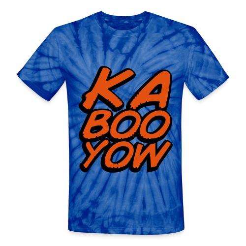 KA BOO YOW UNISEX TIE DIE T-SHIRT - Unisex Tie Dye T-Shirt