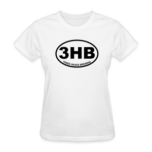 3HB Logo - Black - Women's T-Shirt