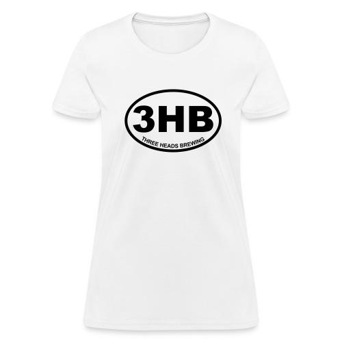 3HB Logo - Black - Women's T-Shirt