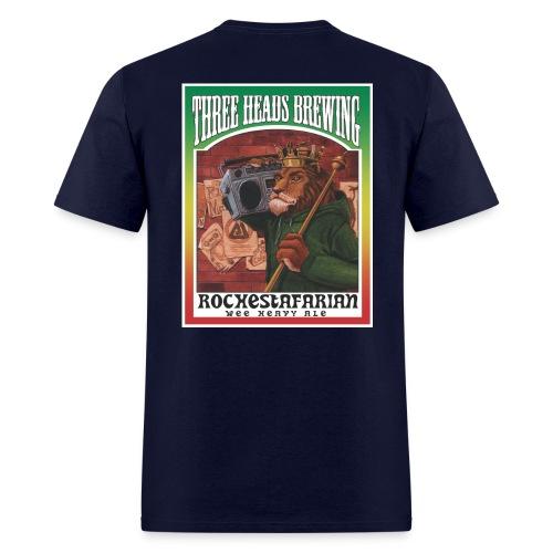 Rochestafarian - White Logo - Men's T-Shirt