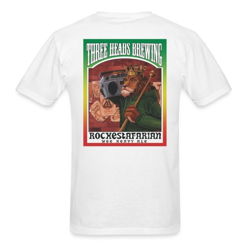 Rochestafarian - Black Logo - Men's T-Shirt