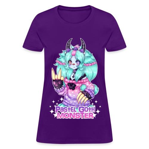 Pastel Goth Monster - Girl T-shirt - Women's T-Shirt