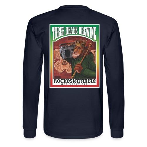Rochestafarian - White Logo - Men's Long Sleeve T-Shirt
