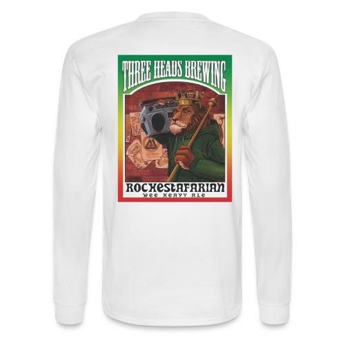 Rochestafarian - Black Logo - Men's Long Sleeve T-Shirt