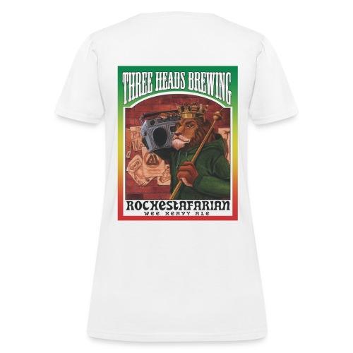Rochestafarian - Black Logo - Women's T-Shirt