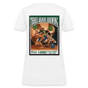 Too Kind - Black Logo - Women's T-Shirt