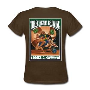 Too Kind - White Logo - Women's T-Shirt