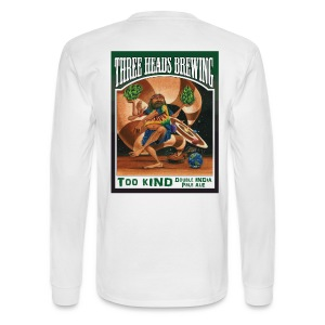 Too Kind - Black Logo - Men's Long Sleeve T-Shirt