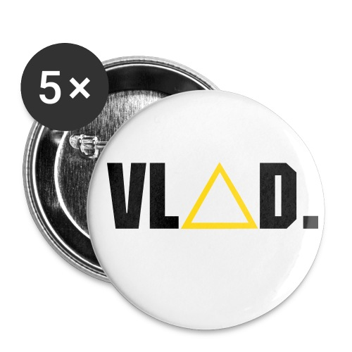 VLAD buttons 5 pack - Small Buttons
