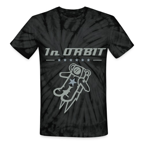 In ORBIT customs - Unisex Tie Dye T-Shirt